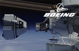 Boeing Unveils America's First Space Taxi